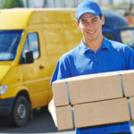 What is meant by courier service?