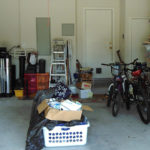 How do you deep clean a garage?